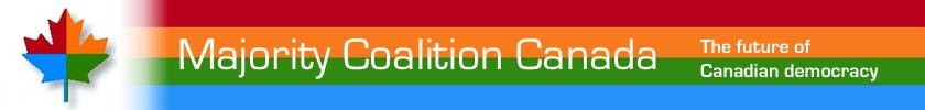 majority coalition banner