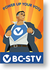 Power Up Your Vote - BC-STV logo