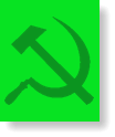The Green hammer-and-sickle