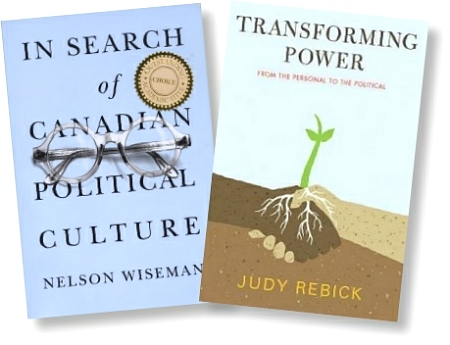 Wiseman and Rebick book covers