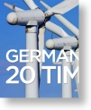 Germany uses 20 times more wind power