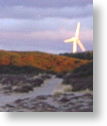Windmills at Findhorn Bay