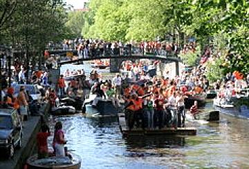 Koninginnedag 2007, Amsterdam, Netherlands