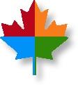 Four-coloured Maple Leaf